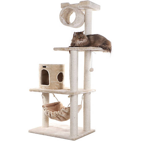 Armarkat Cat Tree, 62 in., A6202, Beige