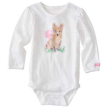 39afcd01c Carhartt Baby Girls' Foxy C Bodyshirt at Tractor Supply Co.