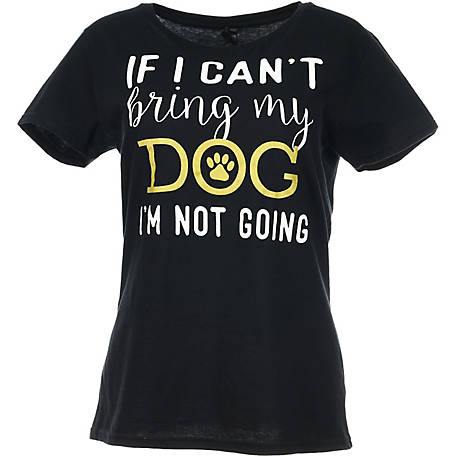 Lost Creek Women's Bring My Dog Graphic T-Shirt