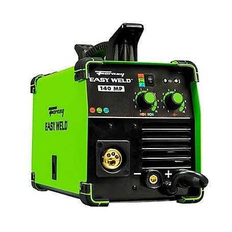 Forney Easy Weld 140 Multi-Process MIG/DC TIG/Stick Welder, Welder, 140A,  120V at Tractor Supply Co