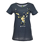 John Deere Women's Floral Deer Head T-Shirt