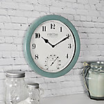 FirsTime Chatham Outdoor Wall Clock