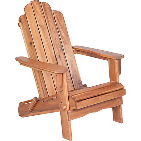 Walker Edison Acacia Adirondack Chair