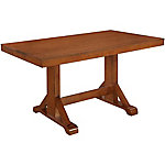 Walker Edison 60 in. Millwright Wood Dining Table
