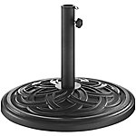 Walker Edison Circle Weave Round Umbrella Base