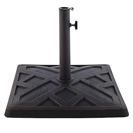 Walker Edison Square Umbrella Base