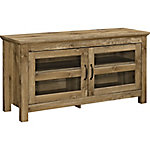 Walker Edison 44 in. Wood TV Media Stand Storage Console