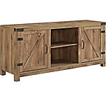 Walker Edison 58 in. Barn Door TV Stand with Side Doors