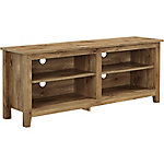 Walker Edison 58 in. Wood TV Media Stand Storage Console