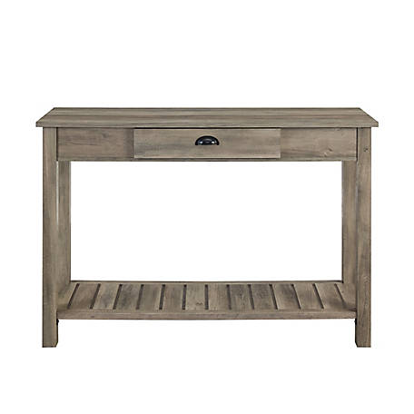 Walker Edison 48 in. Country Style Entry Console Table