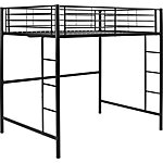 Walker Edison Premium Metal Full Size Loft Bed