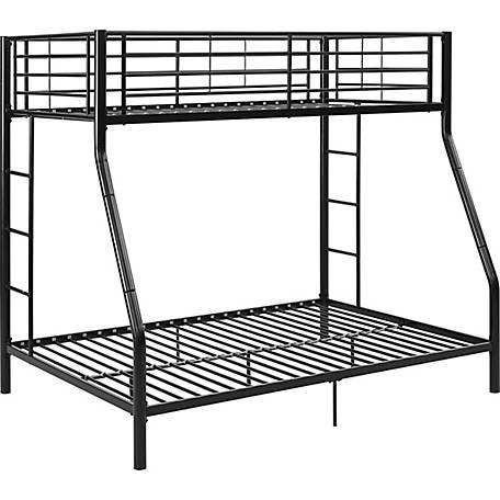 9164e0854966 Walker Edison Premium Metal Twin over Full Bunk Bed at Tractor ...