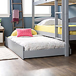 Walker Edison Solid Wood Twin Trundle Bed