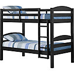 Walker Edison Solid Wood Twin over Twin Bunk Bed