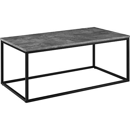 Walker Edison 42 in. Mixed Material Coffee Table