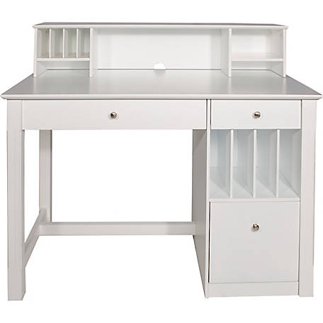 Super Walker Edison Home Office Deluxe White Wood Storage Computer Interior Design Ideas Skatsoteloinfo