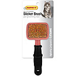 Ruffin' It Soft Grip Self Cleaning Cat Brush