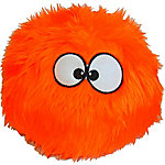 Ruffin' It FurBallz with Chew Guard, Large, Orange