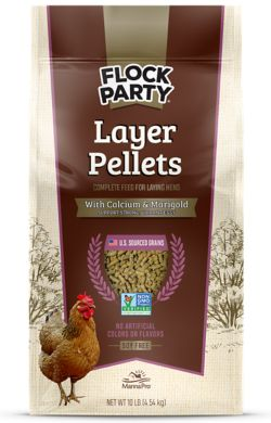 Shop 10 lb. Flock Party Non-GMO Poultry Feed at Tractor Supply Co.