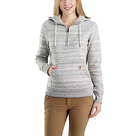 Carhartt Women's Clarksburg Half Zip Sweat Shirt, 103240