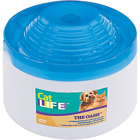 Penn Plax Cat Dog Life Pet Water Fountain