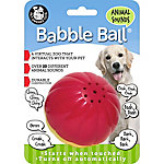 Pet Qwerks Animal Sounds Babble Ball, Red & Yellow