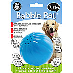 Pet Qwerks Talking Babble Ball, Blue