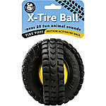 Pet Qwerks Animal Sounds X-Tire Ball