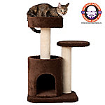 Armarkat Carpeted Cat Tree/Gym Scratching Post, F3005