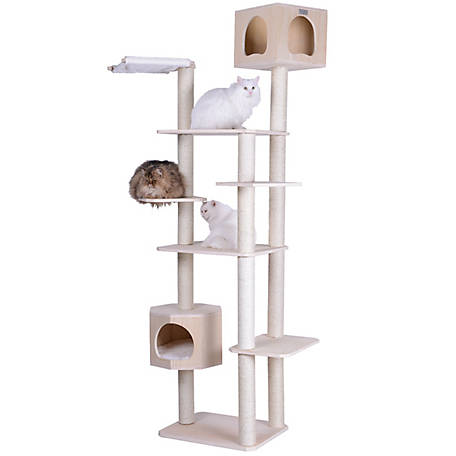 Solid Wood Cat Tree, Condo Furniture, S8902 At Tractor Supply Co.