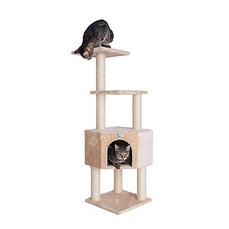 GleePet 48 in. Cat Tree, GP78480321, Beige