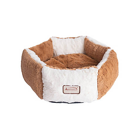 Cozy Pet Igloo House Kitten Hut Warm and Soft with Removable Pad Offers Privacy and Warmth for Small Dogs and Cats Beige Size L Ohana 2-in-1 Cat Tent Bed
