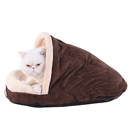 Armarkat Slipper Shape Pet Bed, Mocha, C05HKF/MH