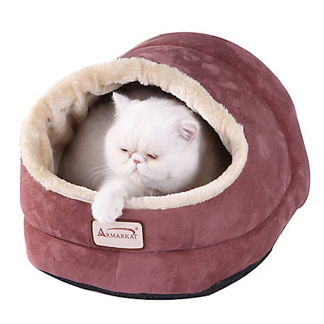 Armarkat Indian Red Cat Bed, 18 in. x 14 in.