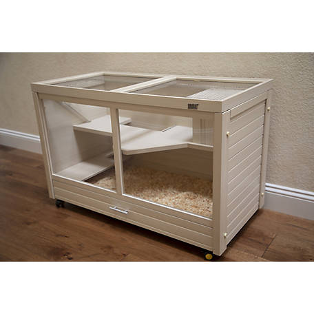 New Age Pet, Park Avenue Indoor Rabbit Hutch made with ECOFLEX, EHRH002-16