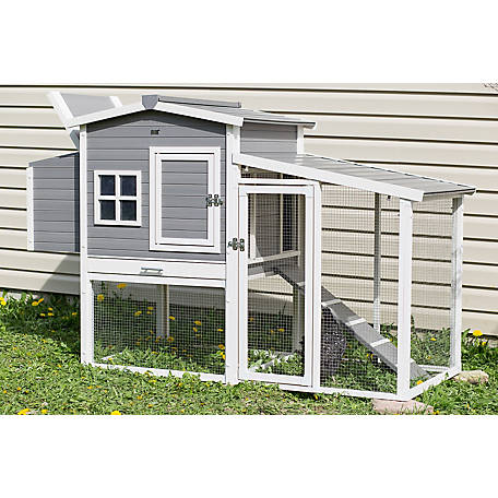 New Age Pet, Hampton Chicken Coop with Pen, ECHK705