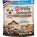 Loving Pets Totally Grainless Dental Bones for Small Dogs, Chicken and Peanut Butter, 6 oz.