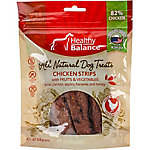 Ethical Pet Healthy Balance Dog Treats, Chicken Strips Fruit & Veggies