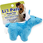 Li'l Pals 4.5 in. Plush Dog Toy, Dog, Blue