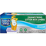 Fresh Step Drawstring Litter Box Liners, Jumbo, Scented