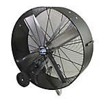 MaxxAir 42 in. Belt Drive Polyethylene Barrel Fan, BF42BDPETSC