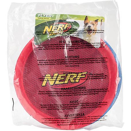 Nerf Dog Nerf Nylon Flyer, 10 in , Pack of 2 - 1318101 at