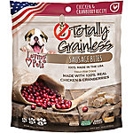 Loving Pets Totally Grainless Sausage Bites, Chicken & Cranberries