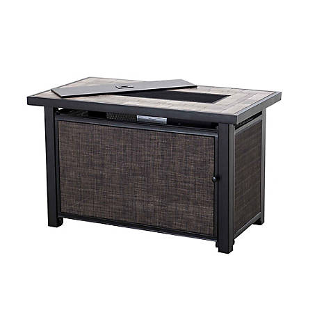 Sunjoy Hartnell Rectangular Lp Fire Pit Table At Tractor Supply Co