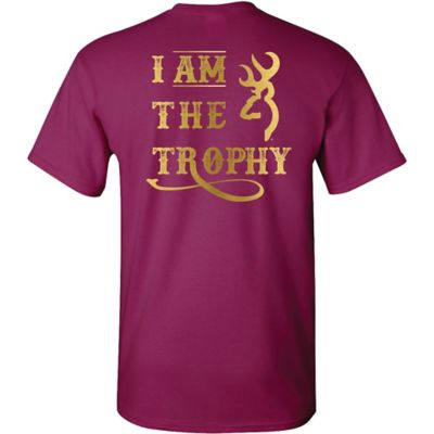 Buy Browning Women's ''I Am The Trophy'' Graphic Tee Online