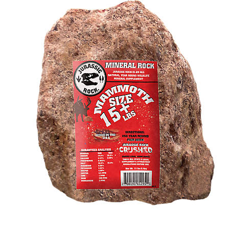 Do-All Outdoors Jurrasic Rock Deer Mineral, JR12