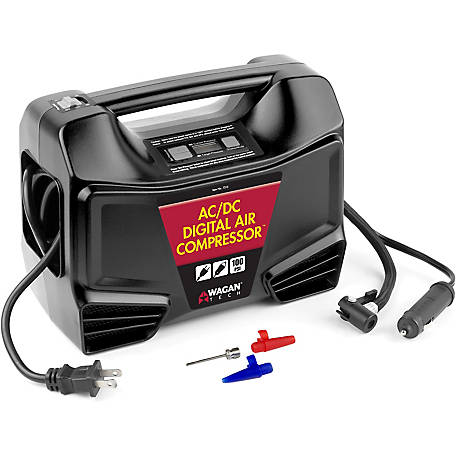 Wagan Tech AC/DC Digital Air Compressor