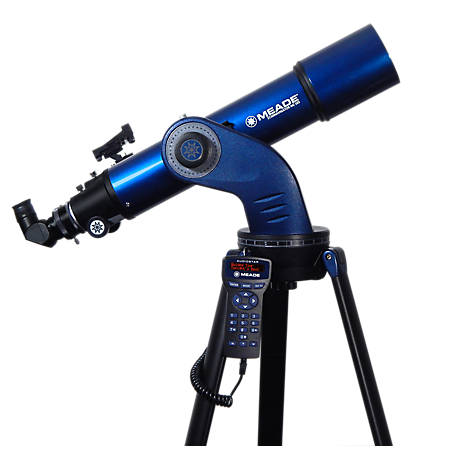 Meade Starnavigator Ng102 Achromatic Refractor Computerized Telescope