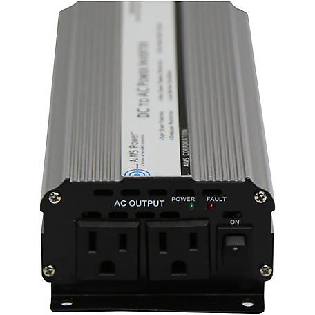 AIMS Power 800W Power Inverter, 12VDC to 120VAC with Cables