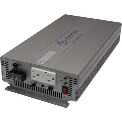Buy AIMS Power 2000W Pure Sine Power Inverter; 12VDC to 120VAC; Industrial Grade Online
